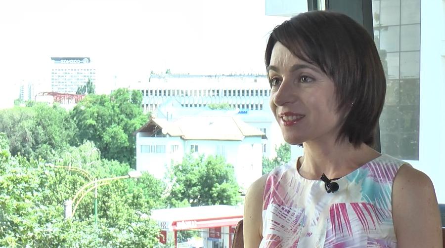 Interviu cu Maia Sandu