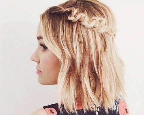 Poartă împletituri chiar dacă ai păr scurt! 8 idei trendy (Foto)