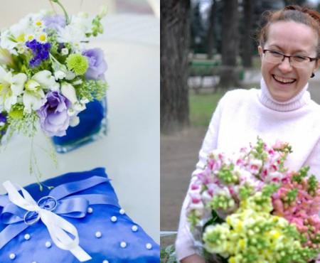 """Florista Aurica Mălai: """"Niciodată nu poți spune că ești un specialist perfect, mereu ai ceva de învățat."""""""