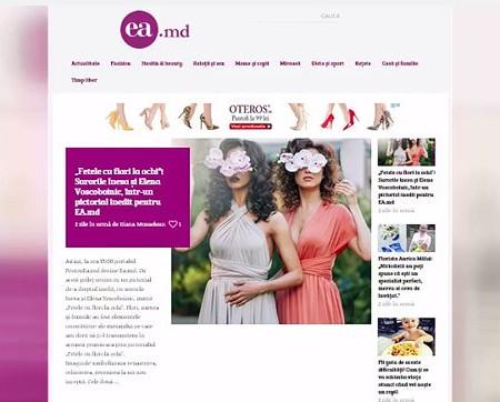 Femeile, inspirate de noul design Ea.md, după relansare (Video)