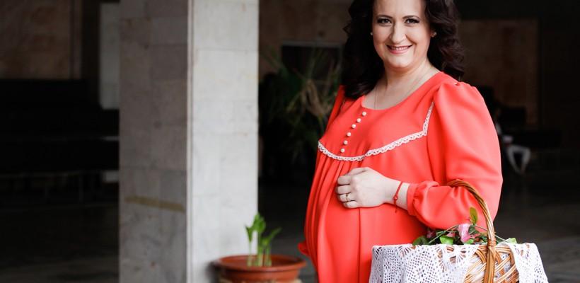 """Rusalina Russu despre sarcină și creșterea copiilor: """"Îmi place spontanietatea, instinctul matern"""""""
