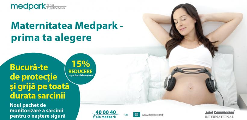 Maternitatea Medpark – prima ta alegere! Grijă și protecție pe toată durata sarcinii