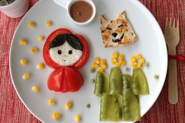 Modalitate ingenioasă pentru a hrăni copii! Vor mânca chiar și cel mai neiubit aliment (Foto)