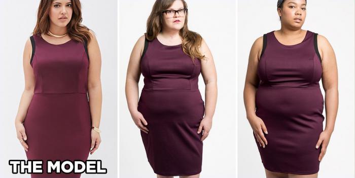 Așteptări vs realitate! Cum arată hainele, comandate online pe femeile voluptoase (Foto)