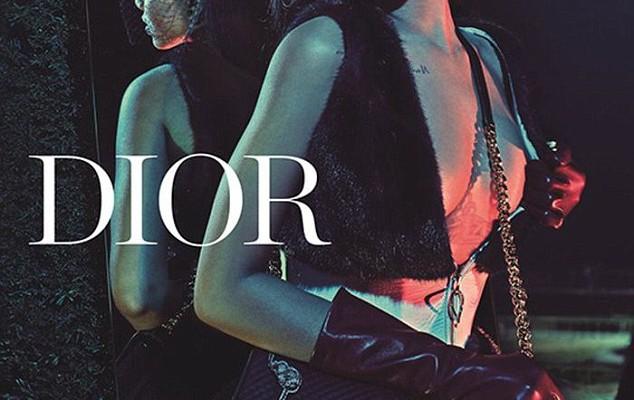 Au apărut dovezile foto! Rihanna este prima ambasadoare de culoare a companiei Dior