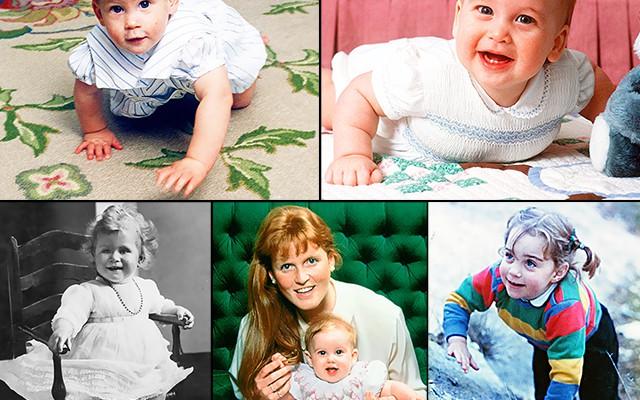 Au fost și ei bebeluși! Te invităm să tragi cu ochiul în albumul Familiei Regale (Foto)