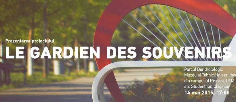 """Avem cu ce ne mândri! Proiectul """"Le gardien des souvenirs"""" din Parcul Dendrologic a fost lansat (Foto)"""