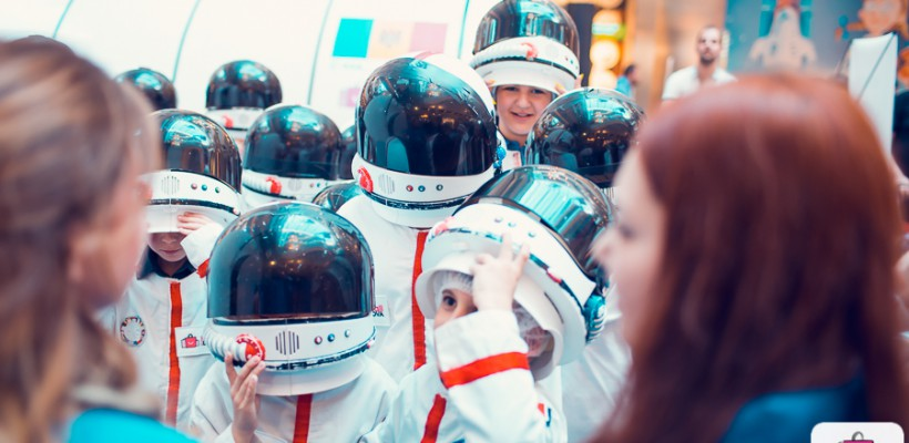 """Kids on the Moon"" – senzații cosmice trăite la Shopping MallDova"