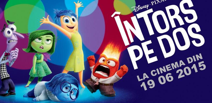 """""""Vocea Pro TV"""", Wilmark şi Diana Cavallioti s-au """"Întors pe Dos"""" într-o nouă animaţie Disney•Pixar (Trailer)"""