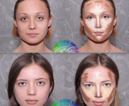 Înainte și după transformare! Make-up artistul Daniela Cosniceanu face minuni prin machiajul de corecție (Foto în articol)