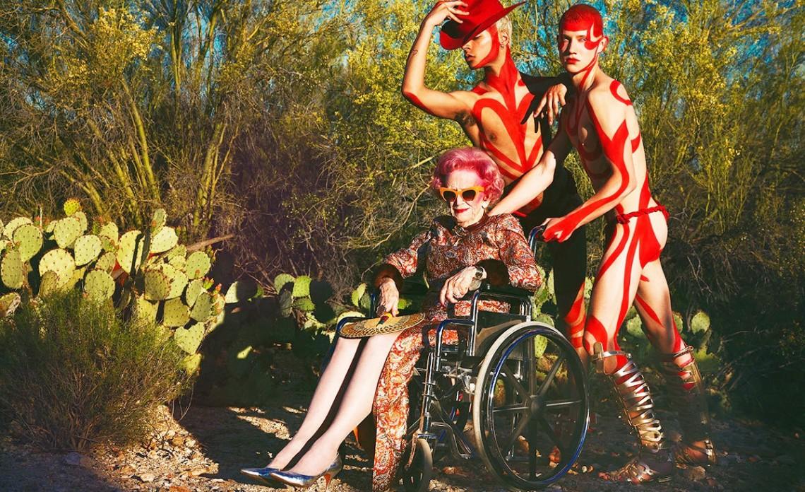 O fashionistă de 90 de ani face furori pe Instagram cu stilul său