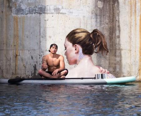 """Femei care ies din apă: un proiect artistic care te lasă """"mască"""""""