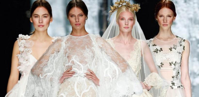 Cele mai fascinante rochii de mireasă de la Barcelona Bridal Week 2015