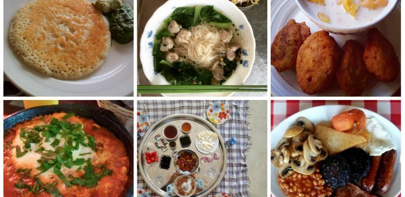 Așa arată Micul Dejun în 24 de țări ale lumii! (Foto)