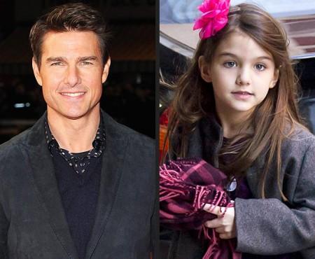 Testul ADN a demonstrat! Tom Cruise nu este tatăl lui Suri (Foto)