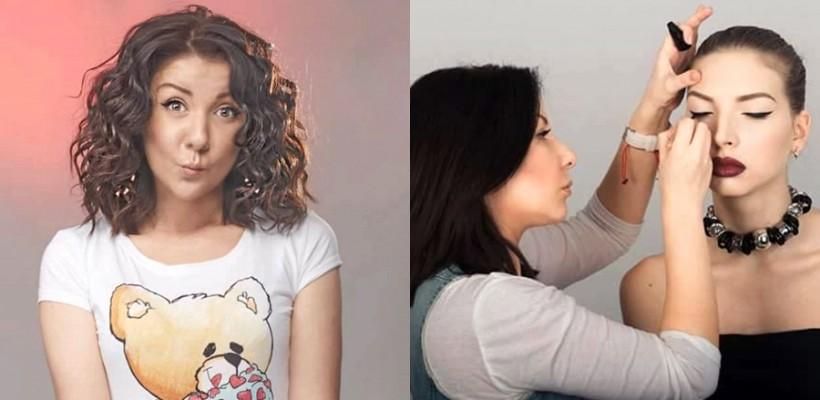"""Makeup artista Ekaterina Ketrushka: """"Ador reacția femeilor, atunci când se privesc în oglindă!"""""""