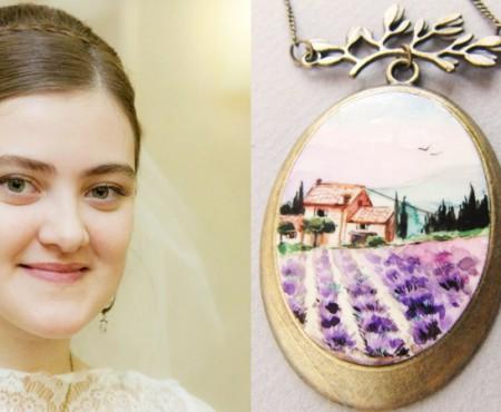 Alyona Strajalcovscaya – creatoarea de bijuterii cu miros de suflet și levănțică