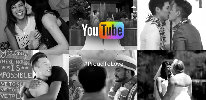 Youtube sărbătorește egalitatea prin #ProudToLove – un video emoționant