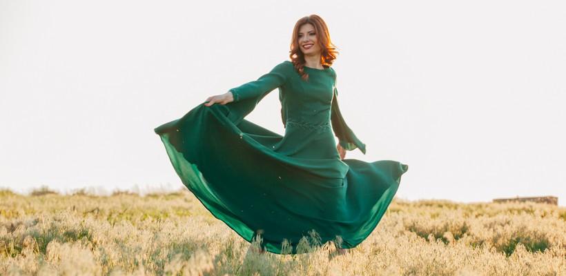 """Veronica Ghimp, în rol de femeie îndrăgostită: """"Iubitul meu e a 8-a minune a lumii"""" (Foto)"""