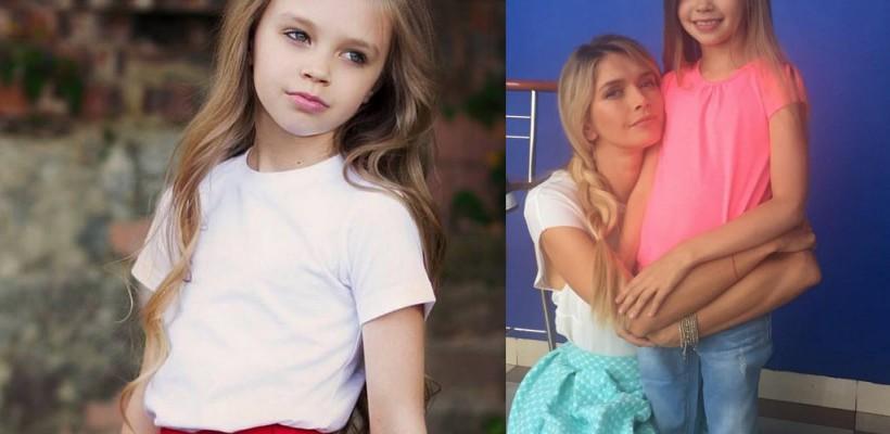 O fetiță din Chișinău joacă alături de Vera Brejneva într-un film! Sunt mamă și fiică (Foto)
