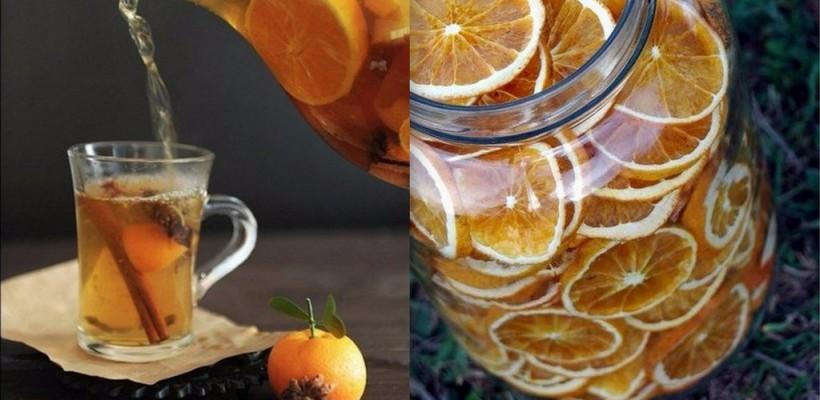 Nu vei uita acest gust! Prepară un ceai din portocale și condimente