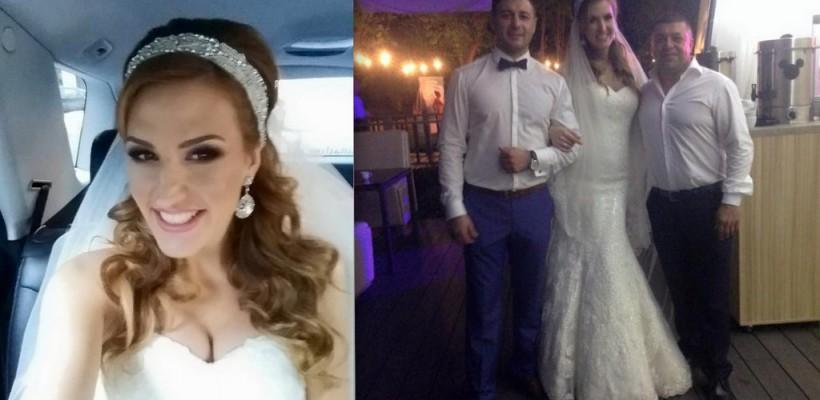 De două ori mireasă în același an, cu același mire! Tatiana Heghea a avut o nuntă grandioasă (Foto)