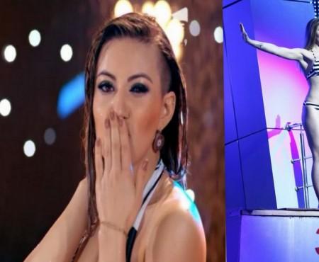 """Nicoleta Nucă a atras toată atenția la show-ul """"Splash"""". S-a blocat să sară în apă"""