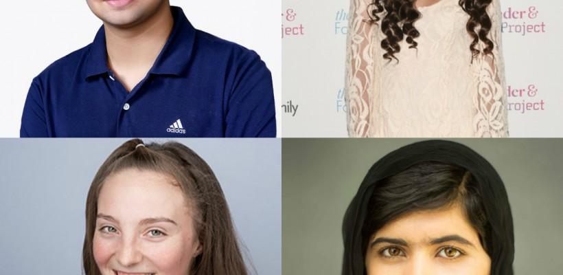 Adolescenții ce au schimbat lumea și continuă să o facă mai frumoasă