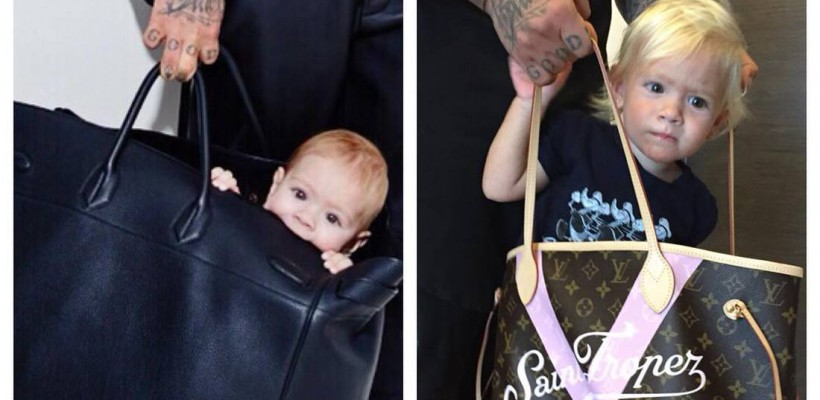 Timati nu-și poartă fiica în cărucior, ci în genți Louis Vuitton. O obișnuiește cu luxul (Foto)