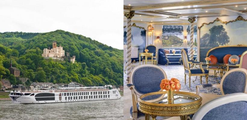 Interiorul celei mai luxoase nave de croazieră din Europa