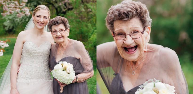 Bunica i-a fost domnișoară de onoare la nuntă!