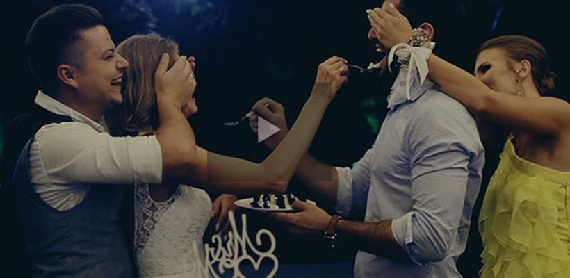Olga și Alexandru Manciu au fost nași la o nuntă de vis. Imagini spectaculoase de la petrecere (Video)