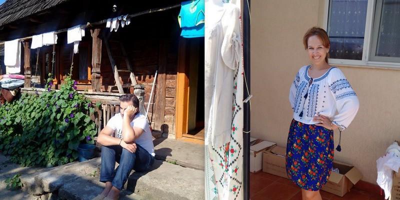 Sanda Diviricean își petrece vacanța în Maramureș, alături de soțul său, Daniel (Foto)