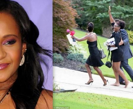 Fiica lui Whitney Houston a fost înmormântată cu dansuri și veselie (Video)