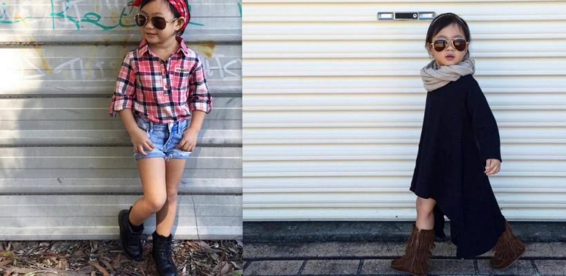 Această fetiță are doar 3 ani și ar putea să îți dea o lecție de stil (Foto)