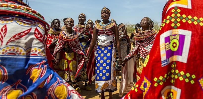 50 de femei și copiii lor s-au izolat de bărbați într-un sat din Kenya (Foto)