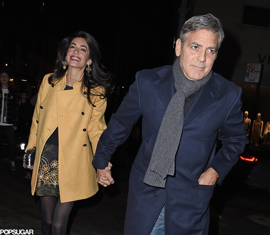 George-Clooney-Amal-Alamuddin-Holding-Hands-Pictures