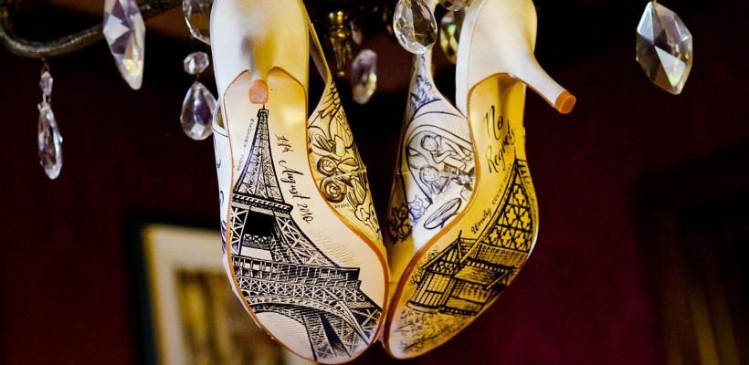 Așa pantofi își va dori orice mireasă! Creațiile uimitoare ale lui Deborah Thompson (Foto)