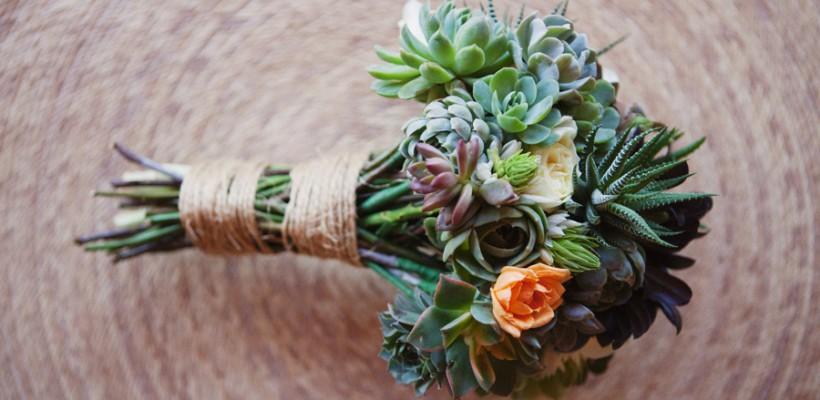 Suculentele sunt plantele perfecte pentru decorul unei nunți tomnatice (Foto)