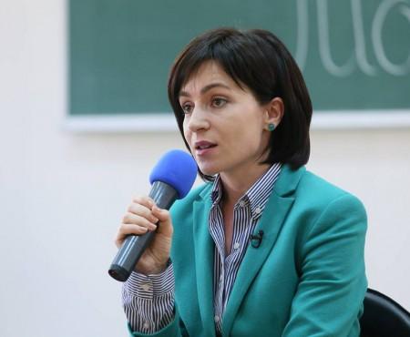 Maia Sandu este ambasadoarea DARE Leaders Academy, primul program de leadership pentru oamenii cu dizabilități din Moldova