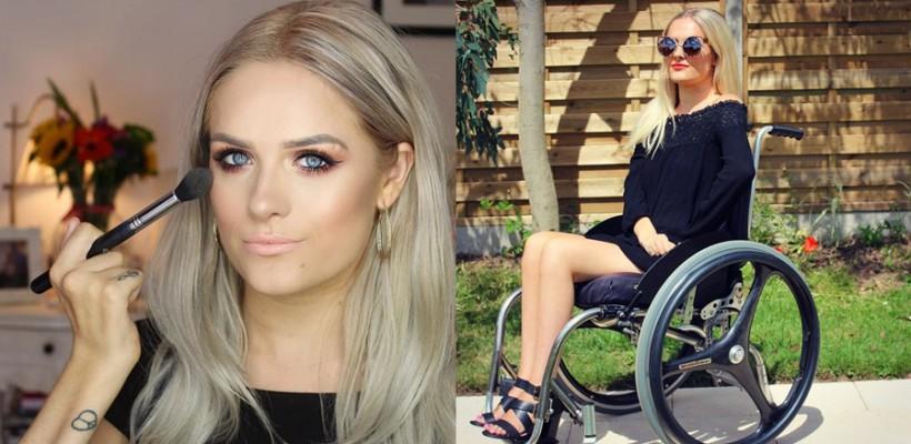 Un beauty-blogger cu paralizie sparge stereotipurile cu privire la frumusețe