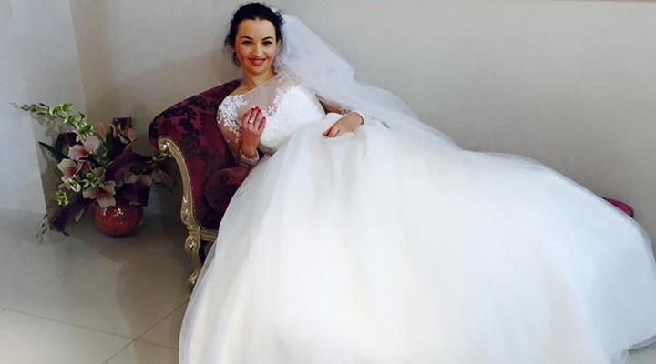 Așa va merge la altar?! Doina Sulac s-a arătat deja în rochie de mireasă!