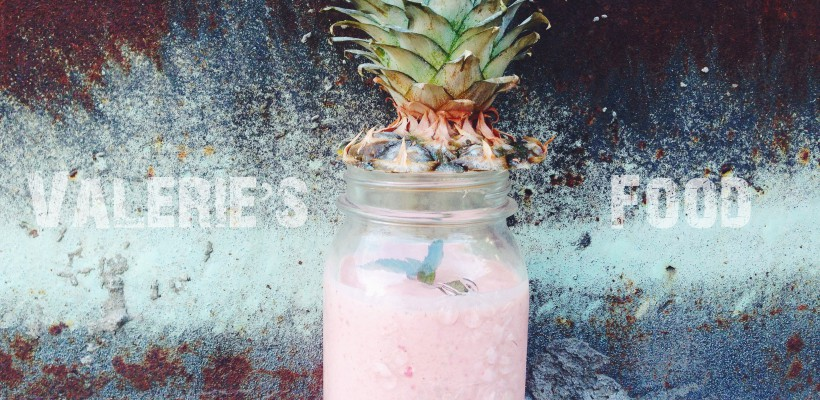 Valerie's Food: Smoothie cu ananas