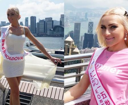 Irina Rotari a dus faima Republicii Moldova la concursul Miss World Peace