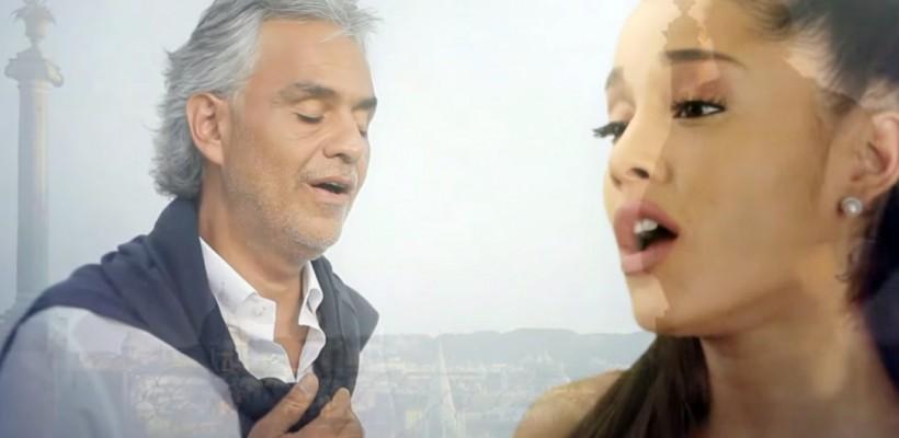 Andrea Bocelli lansează un duet de excepție cu Ariana Grande