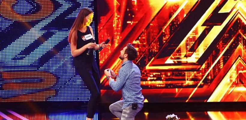O basarabeancă, cerută de mireasă chiar pe scena de la X Factor România (Video)