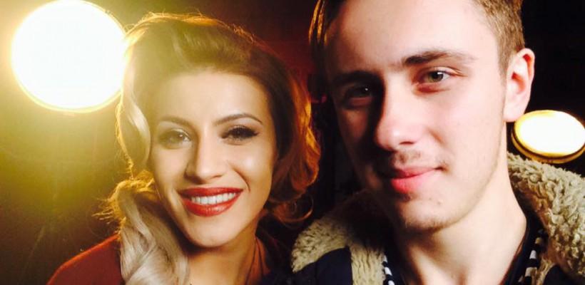 Nicoleta Nucă și-a filmat un videoclip regizat de Roman Burlaca! Primele imagini de pe platou (Foto)