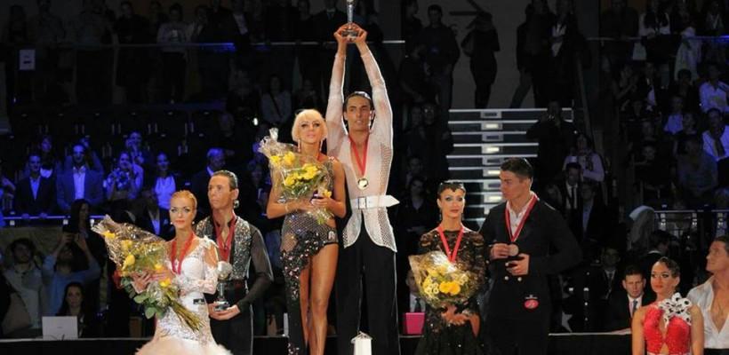 Un italian și o moldoveancă au devenit campioni mondiali la dans sportiv, reprezentând Moldova