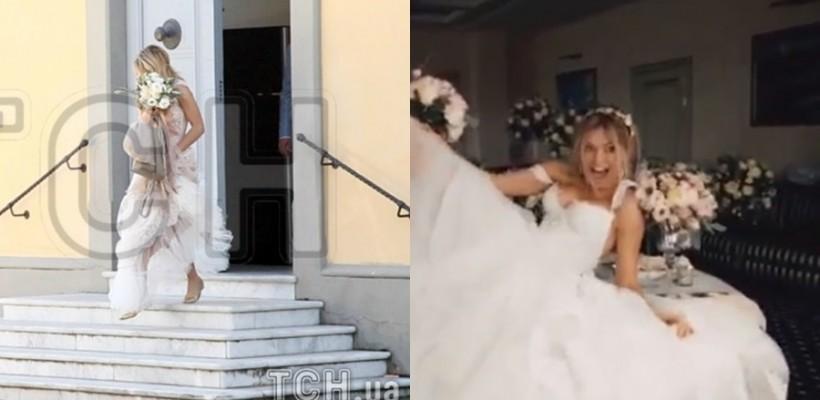 Vera Brejneva a îmbrăcat din nou rochia de mireasă