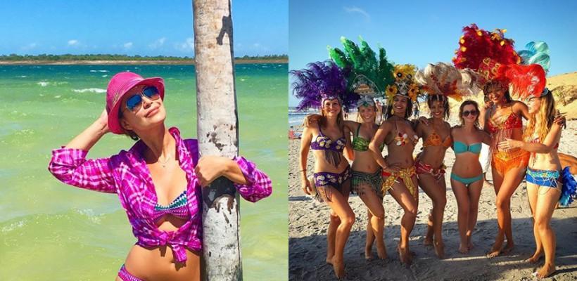 Cea mai bună prietenă a Jannei Friske a avut parte de o vacanță de vis în Brazilia